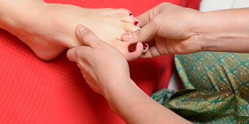 Massage Thai des pieds